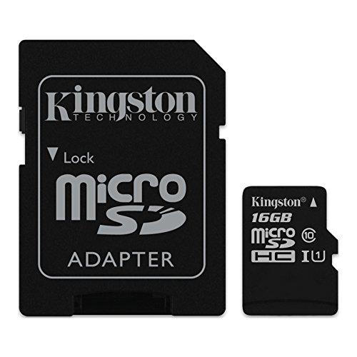 Kingston 16GB microSDHC Class 10, SDC10G2_16GB