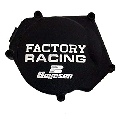 Factory Ignition Cover - Black 2016-2017 Yamaha YZ250X Offroad Motorcycle