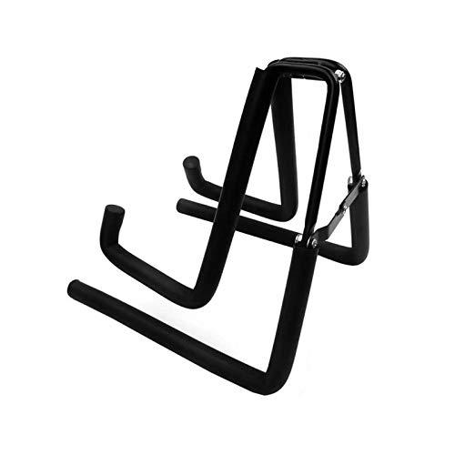 Gitarrenständer Universal-A-Frame Ukulelen Bodenständer beweglichen faltbare Design Metall Musikinstrument-Halter-Ausstellungsstand for Violine Mandoline Gitarre Ukulele Instrumentenhalterung für Akus
