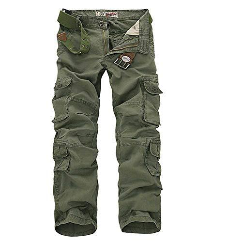 WANGJIE Nieuwe Tactische Cargo Broek Militaire Mannen Camouflage Gedrukt Mannelijke Overalls Casual Leger Rechte Broek 28-42