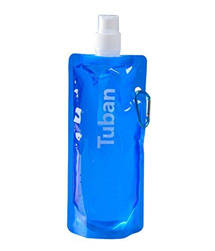 2 pièce bleu bouteille sport/sac de sport de l'eau, 480 ml