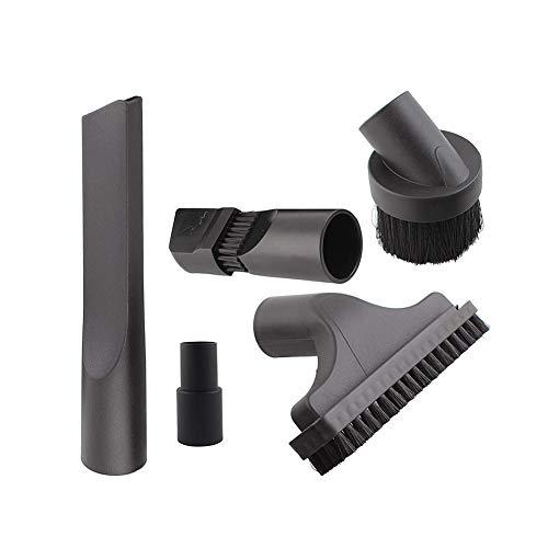Urisgo accessoireset voor stofzuigers, universeel, 5 stuks, voor stofzuigers, 32 mm tot 35 mm, accessoires voor stofzuigers Vax
