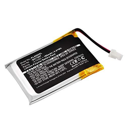 subtel® Batería Premium Compatible con Plantronics CS60, HL10 (180mAh) 452128,6535801,B511007 bateria de Repuesto, Pila reemplazo, sustitución