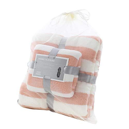 Mosumi Juego de toallas de baño grandes, de secado rápido, altamente absorbentes, toallas de tacto suave, para adultos y niños, perfectas para uso diario.