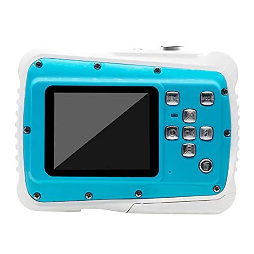 Sharesun kindercamera, waterdicht, voor kinderen, geschenken voor digitale camera, onderwatercamera, 21 MP, HD, voor meisjes en jongens met een LCD-scherm van 2,0 inch, 8 x digitale zoom, flash.