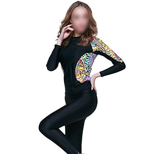 niceday Schnorchel Neoprenanzug, Tauchanzug, Sonnenschutz, Badeanzug, Fitness, Weiblich (Size : S)