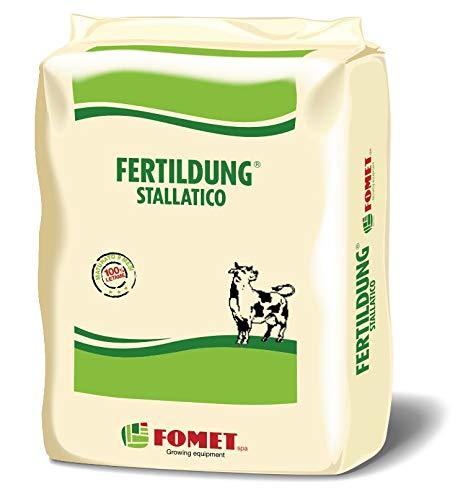 FOMET Fertildung Stallatico Umificato pellettato maturato 9 Mesi 25 kg