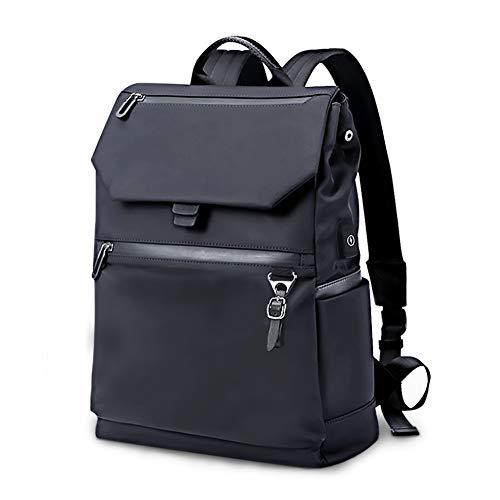 Zeewoo Laptop Rucksack 14 Zoll für Herren und Damen USB Wasserdicht Fahrradrucksack Diebstahlsicherung College Rucksack 30 Liter, Schwarz