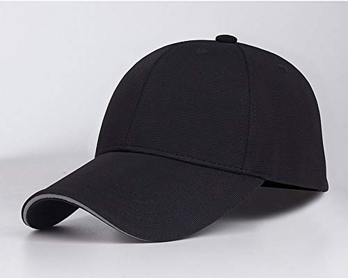 LMJ Outsider Effen kleur baseball cap, lente en zomer sandwich hoed bijzettafel 3D stereo reflecterende cap kan worden aangepast grootte