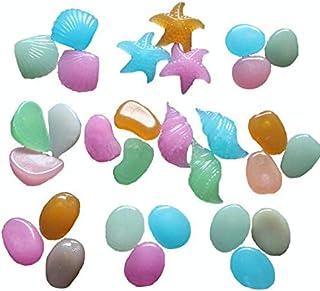 100 pieces artificial Luminous Rocks Multi-shape color for home decoration aquarium decoration FGS2