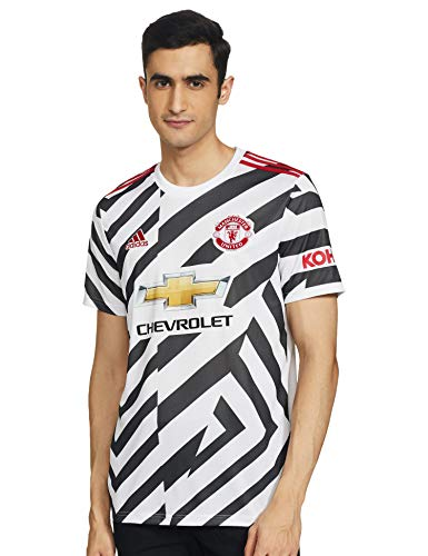 Photo of adidas 20/21 MUFC 3RD Jersey – White/Black, X-Small