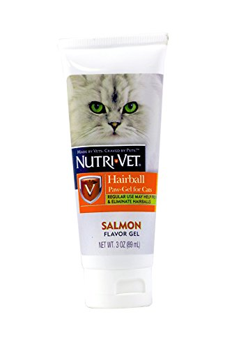 Nutri-Vet Cat Hairball Support Paw Gel