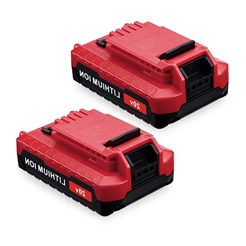 Powerextra 2 Pack 2.5Ah PCC685L Replacement 20V MAX Lithium Ion Battery for Porter Cable 20V Cordless Power Tools Battery PCC685L PCC680L PCC682L PCC685LP