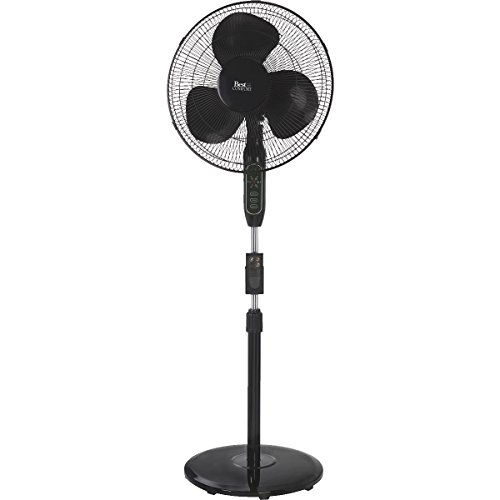 Best Comfort 16 Oscillating Pedestal Fan With Remote Control