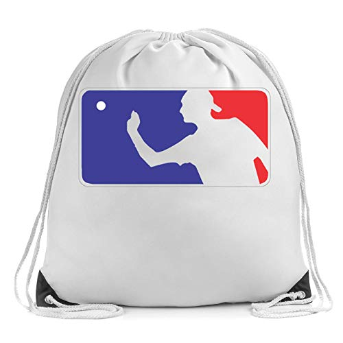 Beer Pong League Logo Turnbeutel Drawstring Bag Gym Sports Bag Backpack
