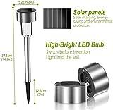 Zoom IMG-2 12 pezzi lampada solare giardino