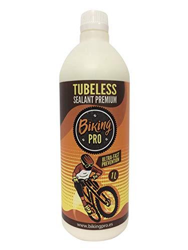 Biking Pro liquido tubeless 1000 ML antipinchazos. Gama Premium