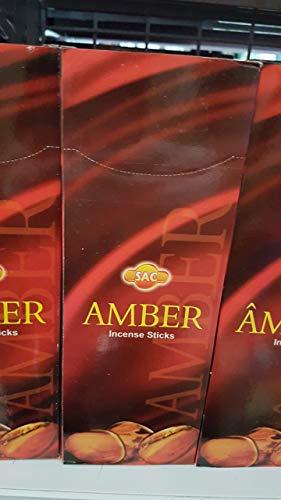 Qaromas Incienso Ámbar - Amber 6 x 20sticks