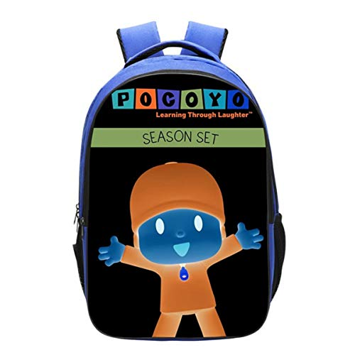 GD-Clothes Kids Pocoyo Backpack-Girls Back to School Bookbag School Backpack-Backpacks for Outdoor,Travel,School