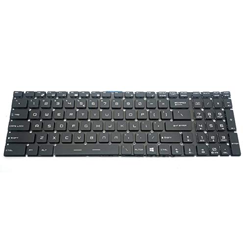 TacPower HQMelectronicsparts Supplies for MSI Steelseries WS60 GE62 6QC 6QF GE72 GT72 GS60 GS70 Keyboard US Backlit