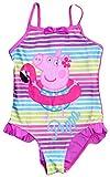 Peppa Pig Filles Costume Natation (3/4 Ans, Rose)