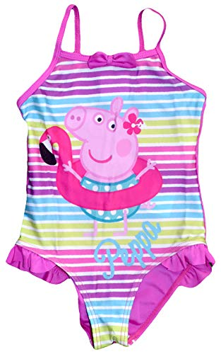 Peppa varken meisjes zwemmen kostuum (3-4 jaar, roze)