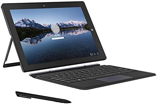 AWOW 10 1 inch Tablet Intel Celeron N3450 Windows 10 in S Mode Ai Book 2 in 1 Laptop Computer product image
