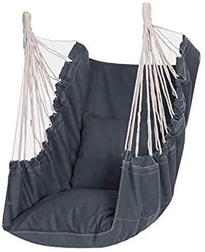 LKITYGF Alegre Silla Colgante Cuerda Swing Superior Comfort Swing Showing Indoor Hogar Dormitorio Patio Silla Silla Relajante Silla
