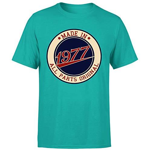 Made in 1977 - Camiseta de regalo de cumpleaños para hombre con 44 años