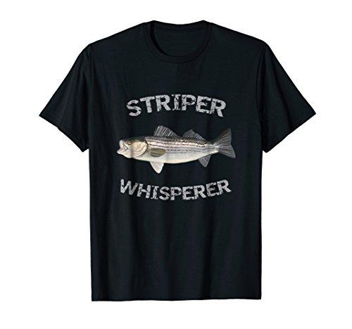 Striper Whisperer Striped Bass T-Shirt Striper Fishing Shirt