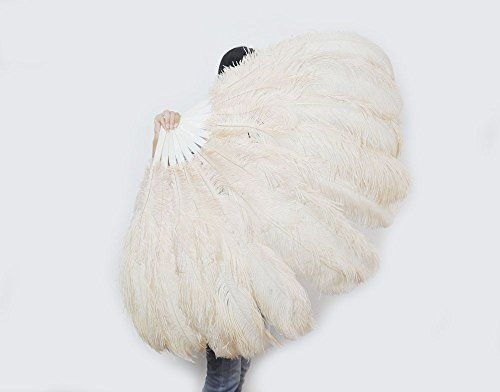 small feather fans - 1