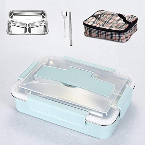 Bento Lunch Box Caja De Bento De Metal De Acero Inoxidable
