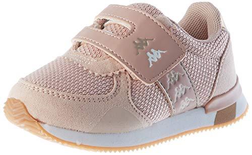 Kappa Jungen Unisex Kinder Mohan 6 V INF Leichtathletik-Schuh, Rosa/Weiß, 26 EU