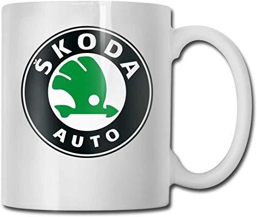 JUKIL Becher Sk-oda Auto Logo Funny Coffee Mug Ceramic, Personalized Cup Great Gifts 11 Oz