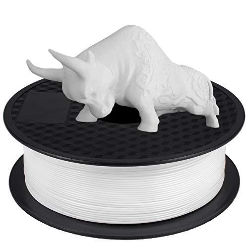 PLA Filamento 1,75 mm, GIANTARM Stampante 3D PLA Filamento 1 kg Spool(Bianco)