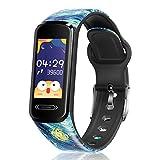 Canmixs Orologio Fitness Tracker Bambino Bambina,smartwatch Bambini Contapassi Calorie Cardiofrequenzimetro Da Polso Ip68 Impermeabile Orologio Digitale Bambini Sveglia Monitoraggio Sonno Android Ios