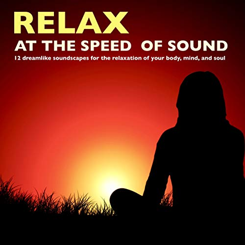 Relax at the speed of sound audiobook cover art