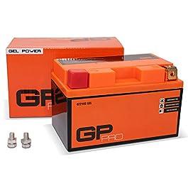 GP-PRO GTZ10S 12V 9Ah GEL Batterie de démarrage (compatible avec YTZ10S / YTZ10-BS) (Sans entretien / Scellé) Moto…