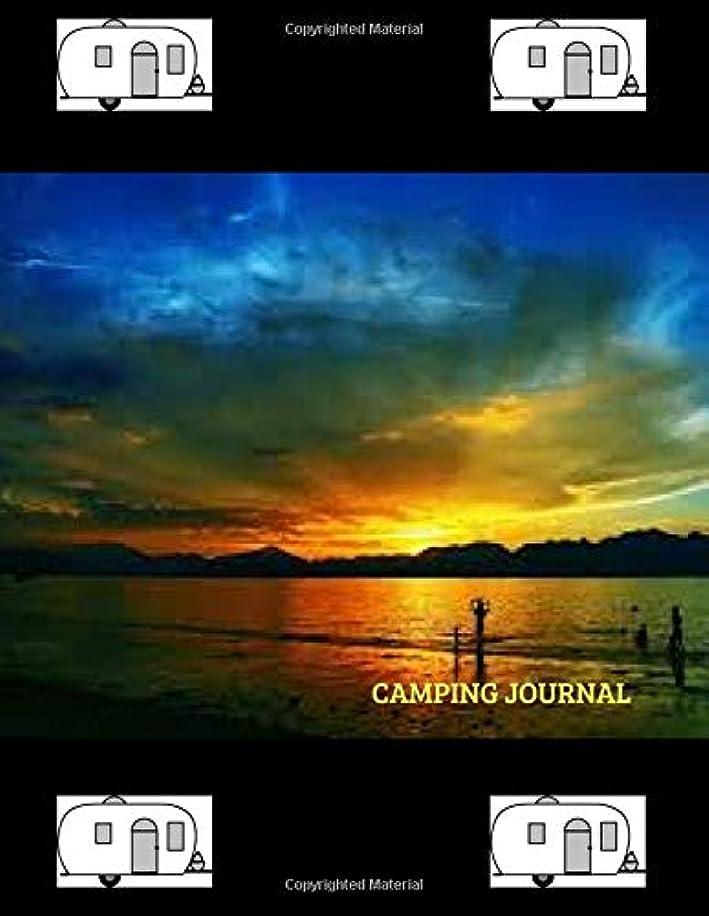 助けて土地メーターCamping Journal: Over 110 Pages with Prompts for Writing, Capture All Your Camping Memories.