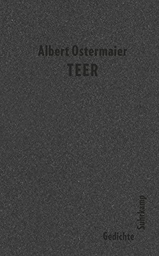 Teer: Gedichte (suhrkamp taschenbuch)