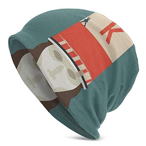 NR Mode Buckethead Erwachsene Männer Strickmütze Muster Baggy Cap Hedging Kopf Hut Top Level Beanie Cap