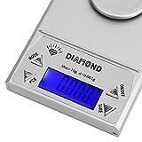 Escala Digital, Escala de joyería LCD para medir el Peso de los artículos