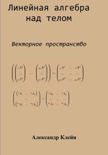 Linear Algebra over Division Ring (Russian edition): Vector Space