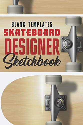 Blank Templates Skateboard Designer: For drawing and creating your own Skateboard Art