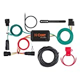 CURT 56320 Vehicle-Side Custom 4-Pin Trailer Wiring Harness, Select Ford Escape