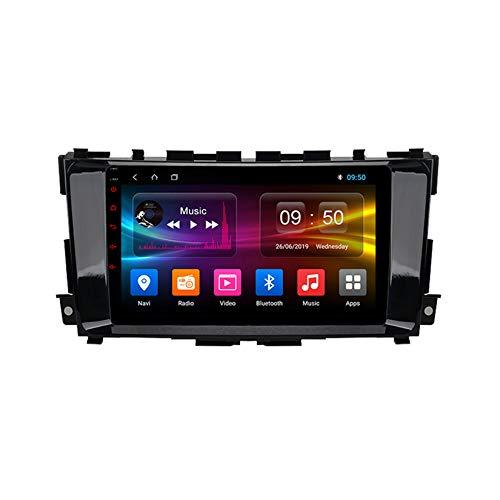 TypeBuilt Android Autoradio 9' Pantalla Tactil para Coche HD Radio De Coche Bluetooth SWC per Nissan Teana Altima 2013-2016 Coche Audio FM/Am/RDS Radio Video Player Bluetooth Radio Pantalla,Px5