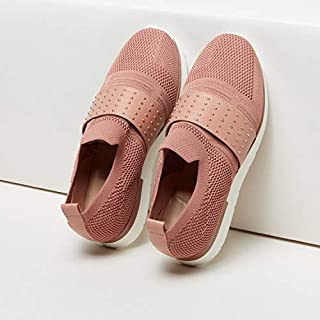 ELLE Textured Slip-On Shoes with Studded Vamp 34EU