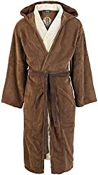 Star Wars Bathrobe Jedi for Unisex brown-beige 100% polyester Normal cut Embroidery One size fits all