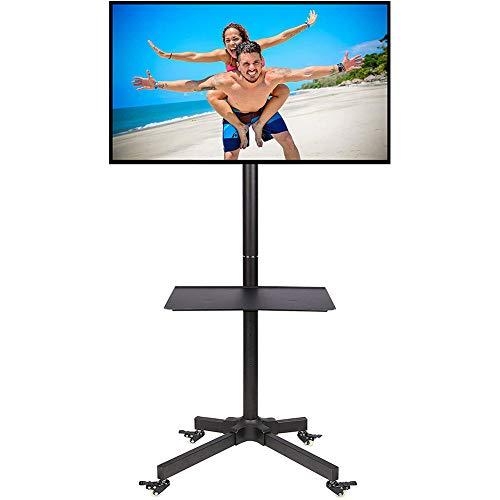 XUEXIONGSP TV standaard, TV kast Draaibaar in hoogte verstelbaar van 32 tot 70-inch LED LCD TV Stand Max 75kg Capaciteit
