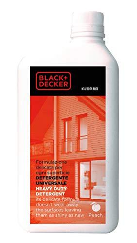 Black+Decker 62080X0001 Detergente universal para hidrolimpiadoras, 1 L
